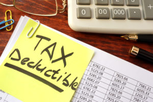 Tax deductions for giving away goods